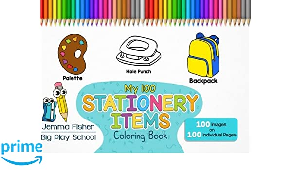 6200 Colouring Pages Of School Stationery Download Free Images