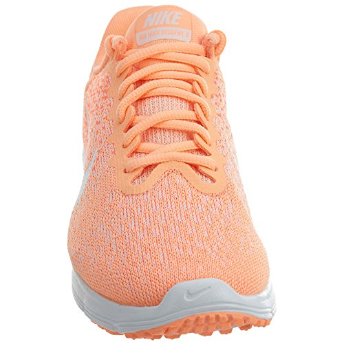 NIKE Damen Air Max Sequent 2 Laufschuh Sunset Glow / Weiß-Hyper Orange