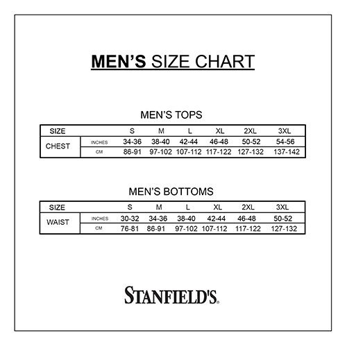 White 2X-Large Stanfields Mens 3 Pack Big and Tall Cotton Brief Underwear