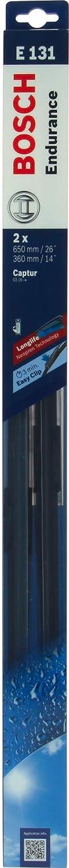 Bosch 647831 - Juego de 2 escobillas para limpiaparabrisas: Amazon.es: Coche y moto