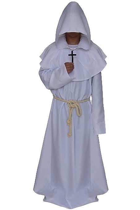 Amazon.com: clearoy Presbítero, de los hombres con capucha ...