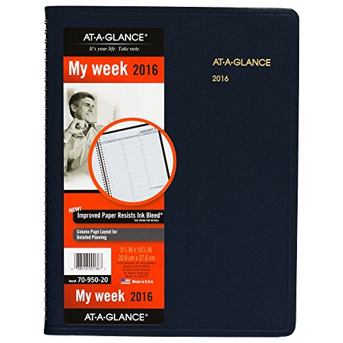 GLANCE Weekly Appointment Planner 70 950 20