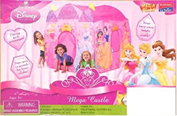 Playhut Disney Princess Mega House  sc 1 st  Amazon UK : disney princess mega castle playhut tent - memphite.com