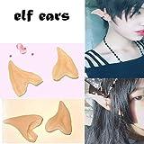 6 Pair Fairy Pixie Elf Ears for Halloween Christmas