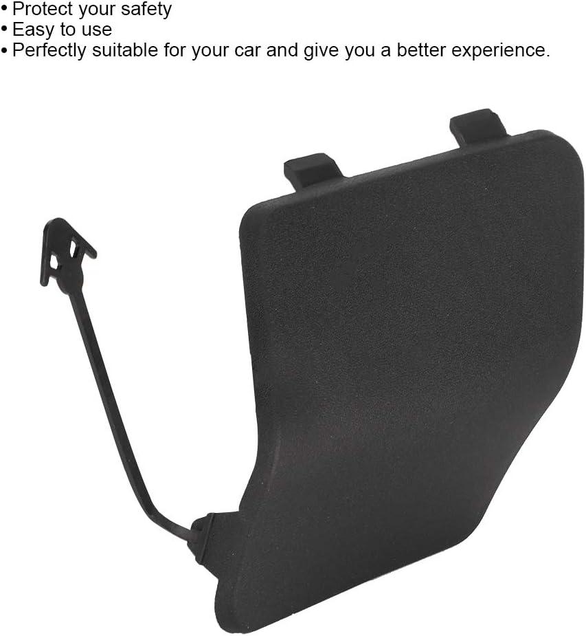 parachoques de coche Yctze Cubierta de orificio de ojo de remolque de parachoques gancho de remolque delantero