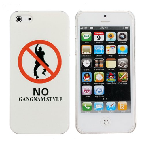 Hard Case Motif Interdiction Gangnam Style de danse dr™le pour iPhone 5