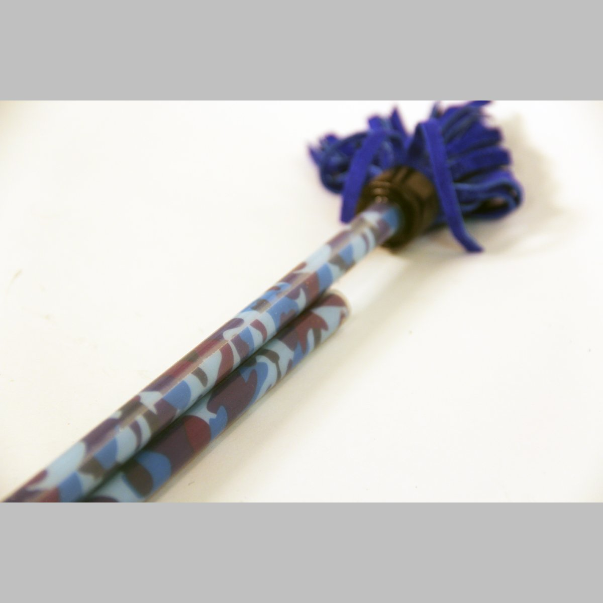 "Z-Stix Made to Order Handmade Juggling Sticks-Flower Sticks-Devil Sticks (King's Spear 30"",Blue Camo)"