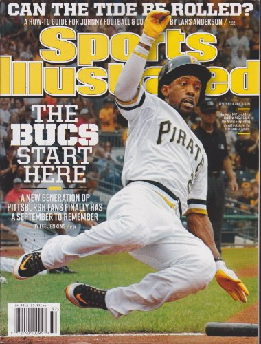Sports Illustrated Magazine September 9 2013 (Andrew Mccutchen Cover) (Book Pittsburgh Pirates Cover)