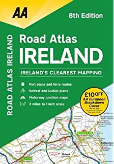 AA Road Atlas Ireland: Amazon.co.uk: AA Road Atlas Ireland ... Aa Ireland Road Map on aa scotland road map, meteor road map, aa road map of england, aa route planner ireland, rac road map, aa france road map, uk england road map, aa uk road map,