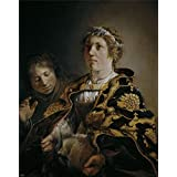 Canvas Prints Of Oil Painting ' Bray Salomon De Judit Con La Cabeza De Holofernes 1636' 30 x 38 inch / 76 x 97 cm , High Quality Polyster Canvas Is For Gifts And Basement, Gym And Nursery Decoration