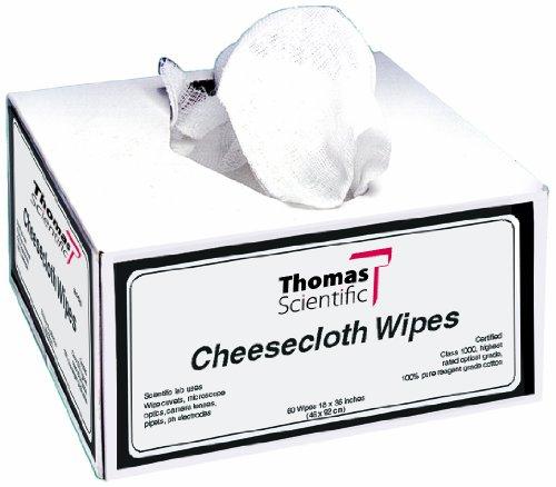 Thomas 2057 Cotton Mini Cheesecloth Wipe, 7