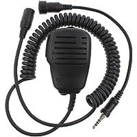 KENMAX Professional Waterproof IP54 Shoulder Remote Speaker Mic Microphone with PTT for Yaesu VX-6R VX-7E VX-120 VX-177 FT-270R