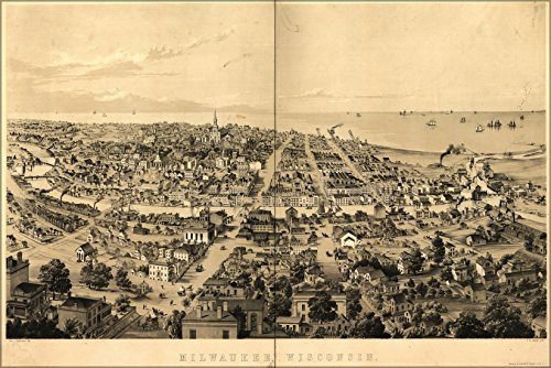 24x36-poster-birds-eye-view-map-of-milwaukee-wisconsin-in-1854