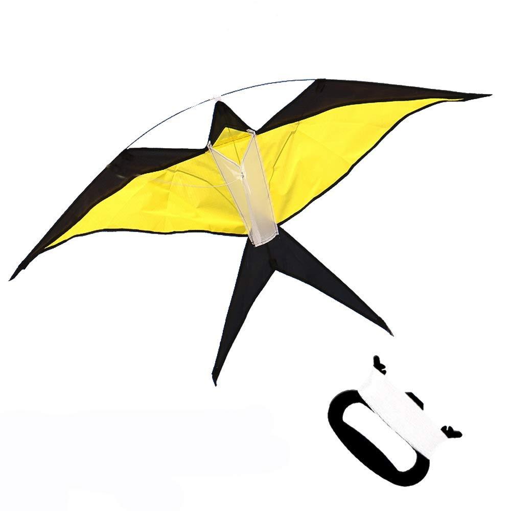 Beginner Kite カラフル 子供用 カイト オレンジ レッド イエロー ブルー イエロー B07Q9YD48N イエロー