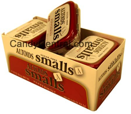 Altoids Small S Mints - Altoids Small Sugar Free Peppermint (9 Ct)