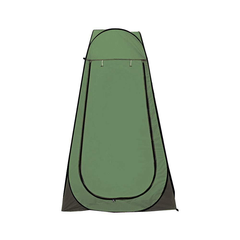 Vinteky Tente de Douche Pliage Pop Up Cabine de Changement Toilette V/êtement Portable Tente Priv/ée douche Camping Abri de Plein Air Vestiaire Ext/érieure Int/érieure+Sac de transport