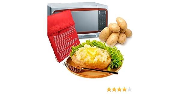 Potato Express- Cocedor de patatas al micro: Amazon.es: Hogar