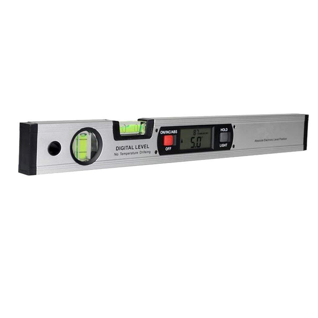Professionelles Digitales Magnetisches Niveau, Wasserdichtes Elektronisches Niveau-Werkzeug, Hellgrüne LED-Winkelmesser-Winkelsucher, Winkelsteigung, Ohne Batterie