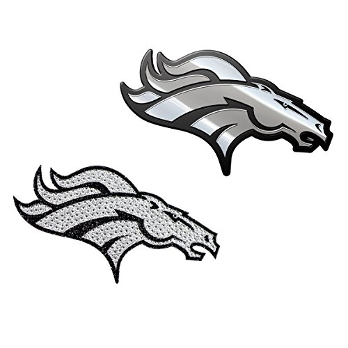 denver broncos metal car emblem - 5