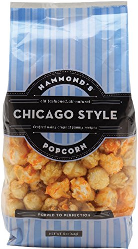 Hammond's Old Fashioned and Delicious, All Natural Popcorn Varieties (Sweet and Cheesy Caramel)
