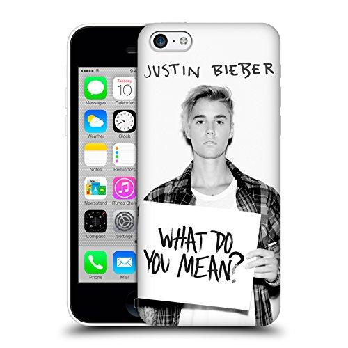 Officiel Justin Bieber Ce Qui Vous Voulez Dire Photo Objectif Étui Coque D'Arrière Rigide Pour Apple iPhone 5c