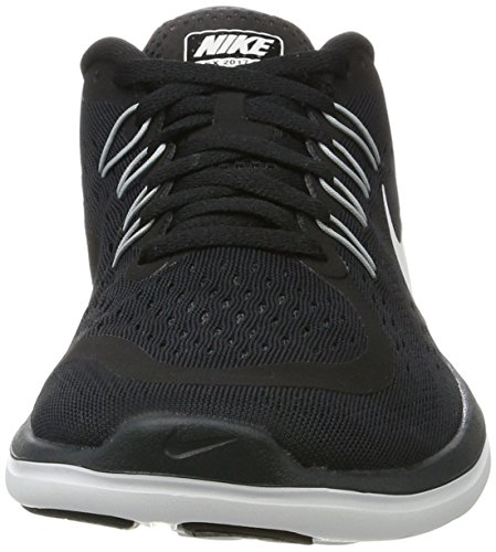 Donna RN Sense Nero Shoe Indoor Sportive Nike Wolf Black Free Scarpe Running White 001 Anthracite Grey Women's BqEqv1wz