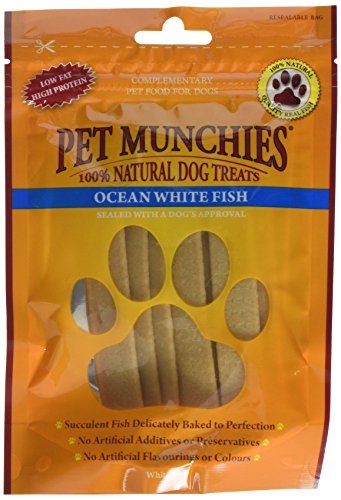 Pet Munchies Ocean White Fish Strips 100g