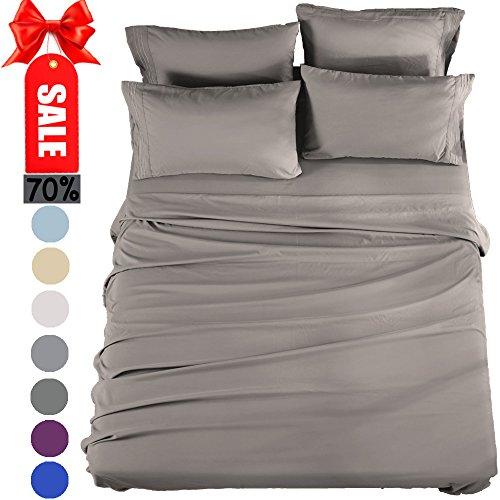 Queen Sheets Bed Sheets Set Microfiber Super Soft 1800 Threa