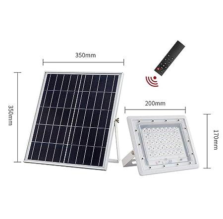 Q-fo LED Foco Proyector Solar Exterior, Luces De Seguridad ...