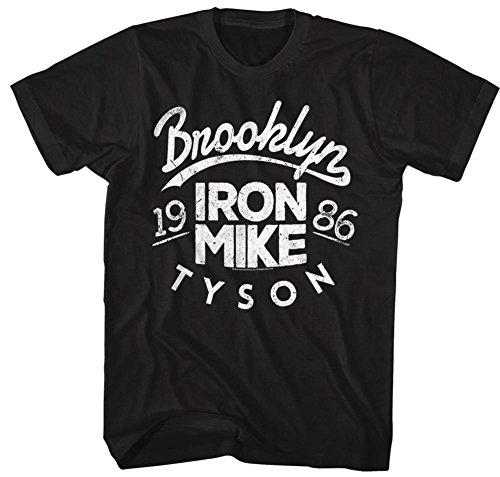 Mike Tyson- Iron Mike T-Shirt - Schwarz
