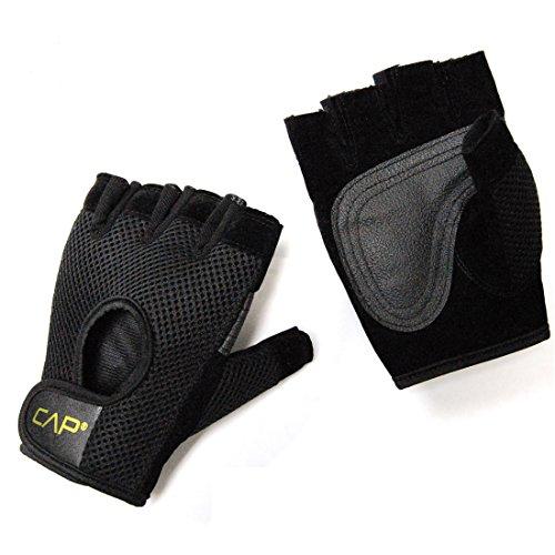 Mesh Weight Lifting Gloves: CAP Barbell HHWG-CB001L-E Cap Mesh Weight Lifting Gloves