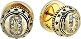 Marc Jacobs Women's Medallion Studs, Gold, One Size