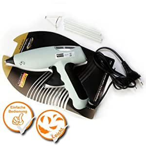 MASTERP–schm elzkleb Pistola Pistola termofusible Incluye 2lápices adhesivas, práctica Temperatura hasta 190grados