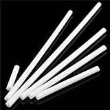 CoCocina Nylon Rods 20mm Diameter White Engineering Round Bar 100/200/300/400/500/600mm -600mm