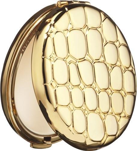 Estee Lauder/Golden Alligator Slim Compact Lucidity Pressed Powder #06 0.09 Oz
