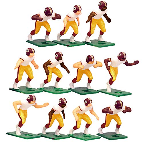 (Washington Redskins Away Jersey NFL Action Figure Set)