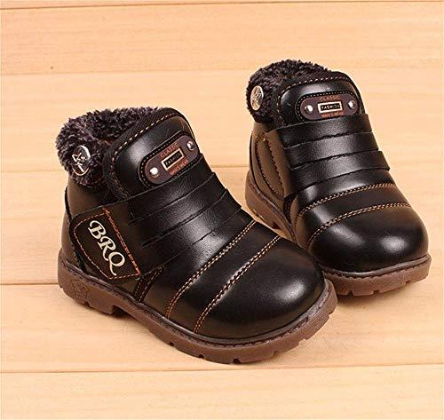 Bébé Fashion Chaussures Kemosen Waterproof Fille Bottes Casual Chaud Garçons Mixte Noir dnOwqY