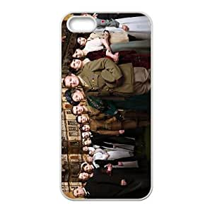 iPhone 5,5S Protective Phone Case Downton Abbey ONE1231507