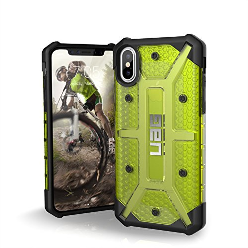 URBAN ARMOR GEAR UAG iPhone Xs/X [5.8-inch Screen] Plasma Feather-Light Rugged [Citron] Military Drop Tested iPhone Case