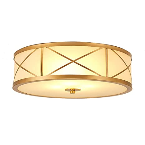 Vintage Led Ceiling Lights Round Simple Lampara De Techo ...