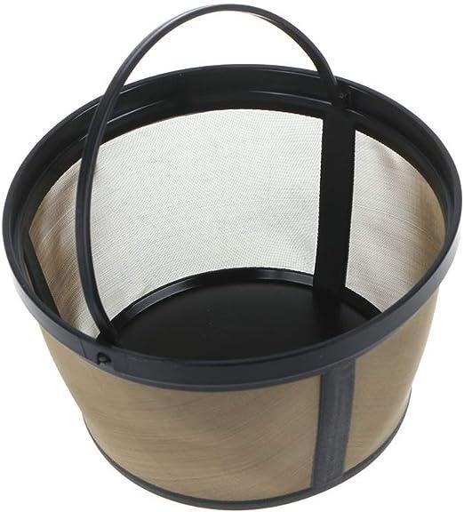 Repuesto de filtro de café lavable, reutilizable, cesta de malla ...