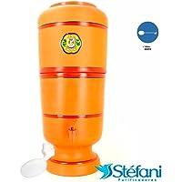 Filtro de Água de Barro São João Tradicional 6 Litros + 1 Boia Grátis