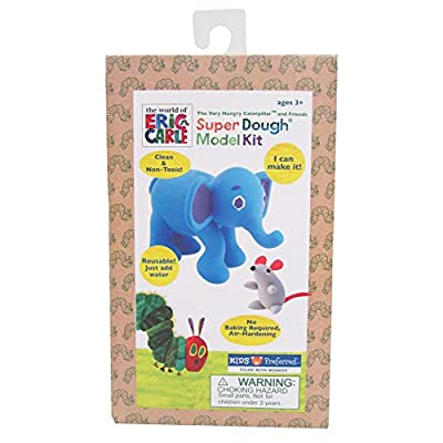 Eric Carle The Very Hungry Caterpillar Elephant Super Dough Model Kit: Toys & Games