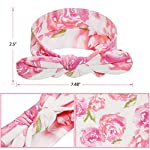 Newborn-Baby-Swaddle-Blanket-and-Headbands-Set-Soft-Floral-Wrap-Receiving-Blankets-for-Spring-Summer