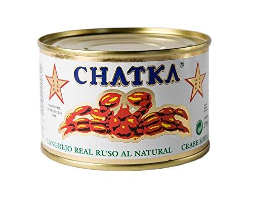 Chatka - Conserva Cangrejo Real Ruso 60% Patas, 220 g: Amazon.es: Alimentación y bebidas