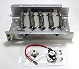 PS334313 - Heavy Duty Clothes Dryer Replacement Heating Element for Whirlpool Kenmore Maytag Roper KitchenAid Estate Sears Magic Chef Amana Admiral (*** Includes 279816 Thermostat kit***)