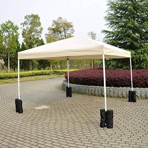BESPORTBLE 4 Piezas Al Aire Libre Pop-Up Toldo Carpa Cenador Peso Bolsa de Arena Ancla Instantánea Refugio Pierna Dosel Pesas (Blanco): Amazon.es: Jardín