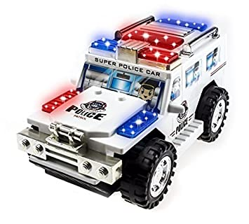 Amazon Com Techege Toys Super Police Toy Car Toys Games