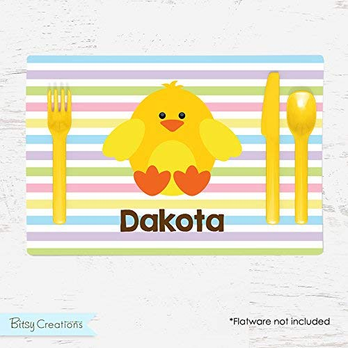 Easter Chick Personalized Placemat for ()