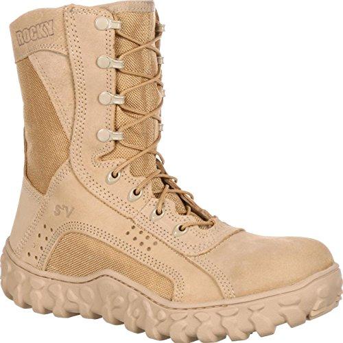 Rocky Men's S2V Steel Protective Toe Tan Boot 12.5 W ()